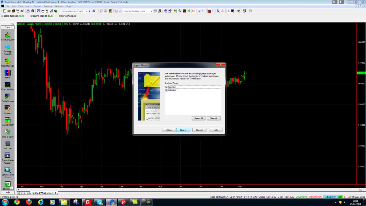 How to Install an Indicator in TradeStation