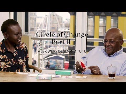 The circle of change game - part ii – alek wek & desmond tutu 1-2