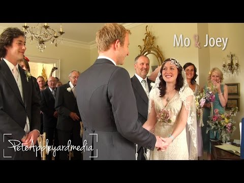 Mo & Joey - A Perfect Wedding in Cornwall