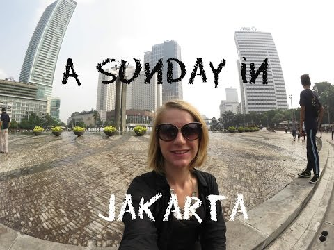Jakarta Car Free Day & Grand Indonesia Mall