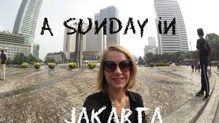 Jakarta Car Free Day & Grand Indonesia Mall