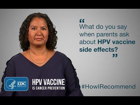 hpv vaccine side effects gardasil)
