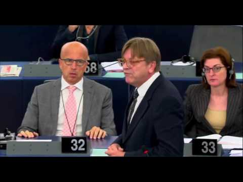 Guy Verhofstadt 05 Jul 2016 plenary speech on Conclusions of the European Council meeting of