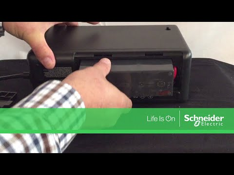 Connecting the Battery on APC Back-UPS M Series UPS | Schneider Electric  Support
