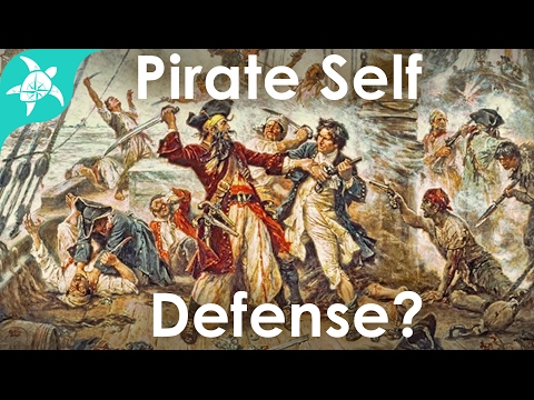 Robbed at Gunpoint & Pirate Self Defense Discussion