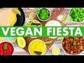 Vegan Mexican Fiesta! Healthy Cheese, Sour Cream, Tortillas + Jackfruit Recipes! - Mind Over Munch!