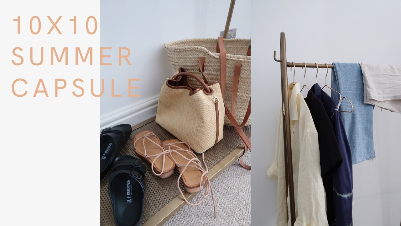 10 Items, 10 Outfits | Capsule Wardrobe 10x10 Challenge | The Anna Edit
