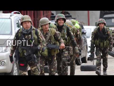 Philippines: Military continue offensive against militants in Marawi