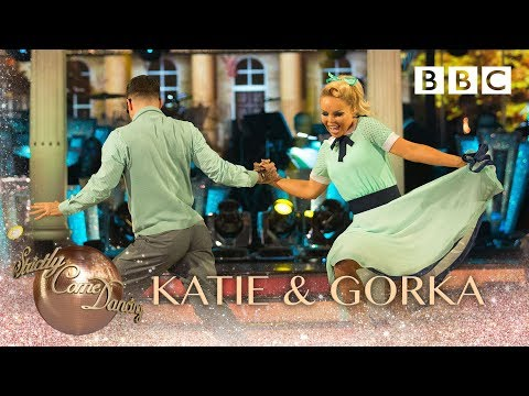 Katie Piper and Gorka Marquez Jive to 'Why Do Fools Fall In Love' - BBC Strictly 2018