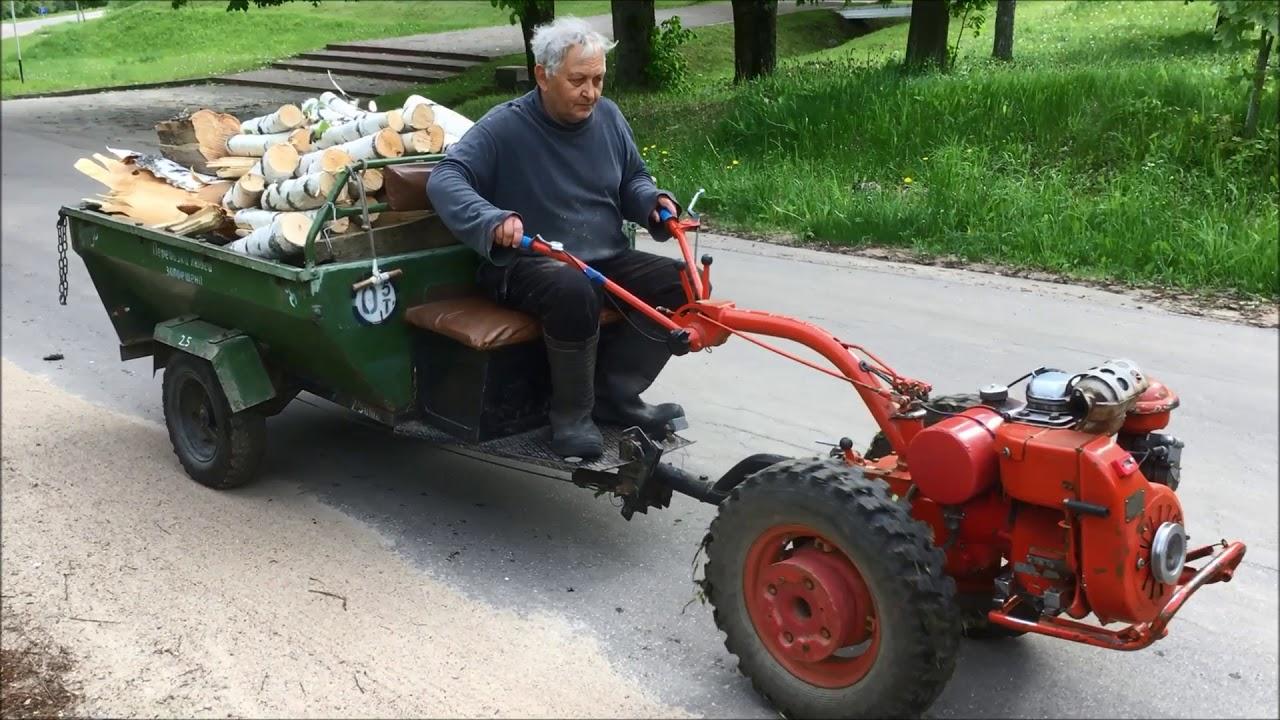 МОТОБЛОК МТЗ-05  С ВОЗОМ ДРОВ 600kg+ (MTZ-05)