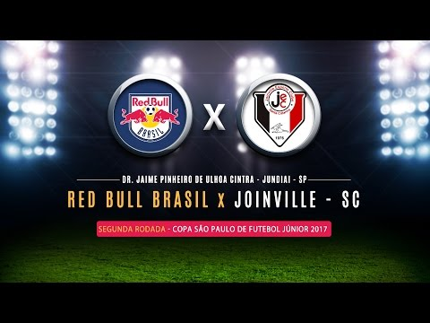 Red Bull Brasil 4x1 Joinville - Copinha 2017