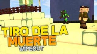 TIRO DE LA MUERTE!! - CARRERA WIPEOUT - sTaXx vs Willyrex - MINECRAFT - sTaXxCraft