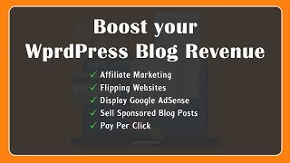 How to Monetize WordPress | Boost your blog revenue upto $5000/Day