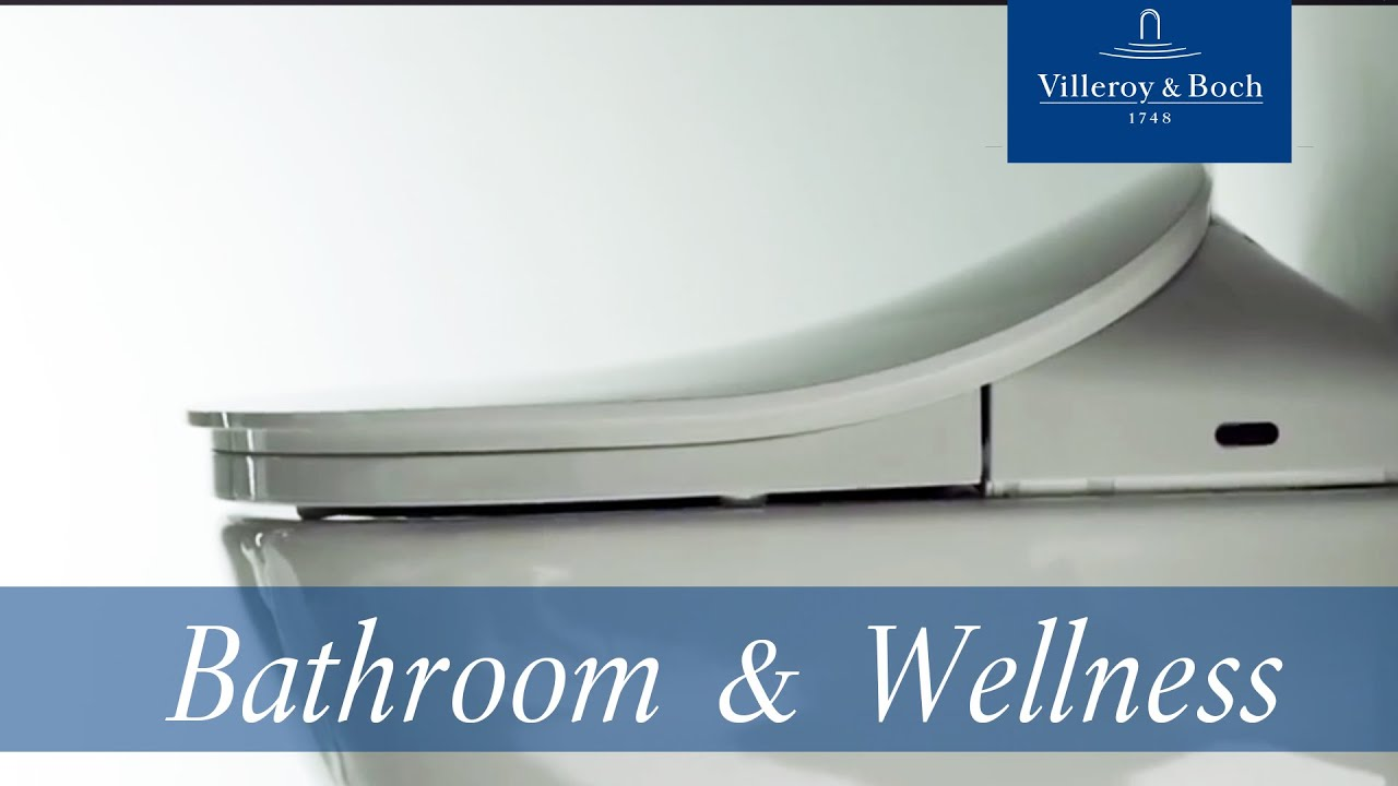 Viclean L Combination Of Wc And Bidet Villeroy Boch Youtube