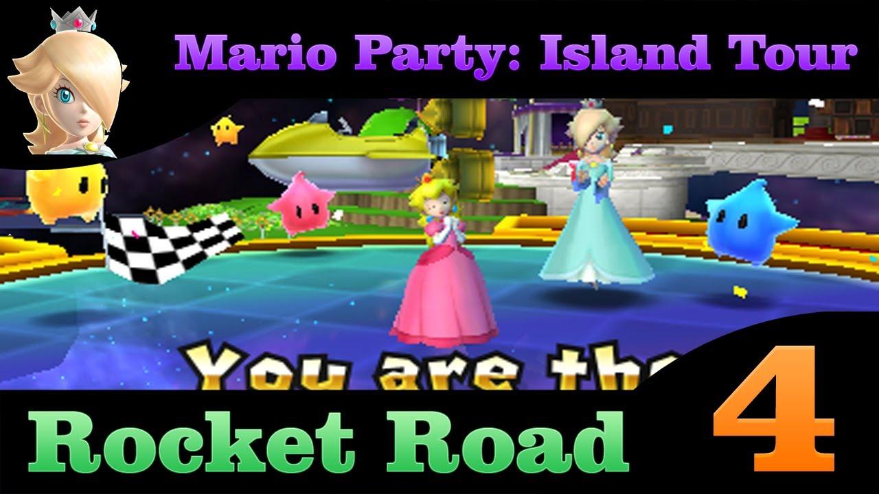 Mario Party Island Tour Rocket Road