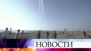 Израильские ВВС нанесли удары по позициям ХАМАС в Секторе Газа.