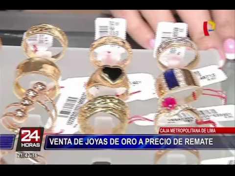 748f0f719a12 Miraflores  joyas de oro son rematadas desde 150 soles - YouTube
