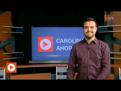 Julian Berger anchoring on Carolina Ahora on 1/24/2020
