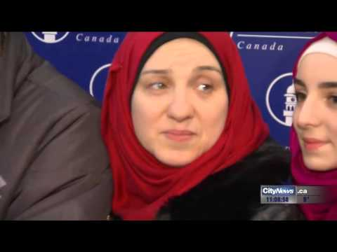 Two Syrian Refugee Families Touch Down In Toronto