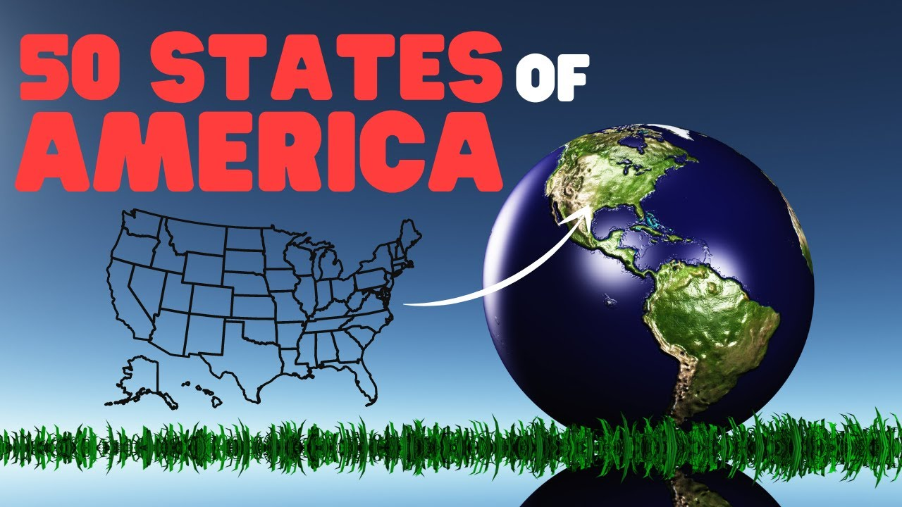 50 States of America - A history of the 50 US States