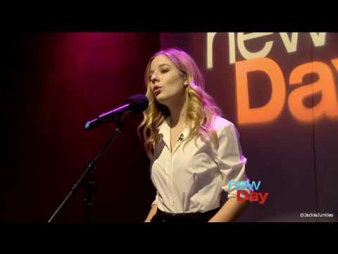 Jackie Evancho Performs Safe & Sound Live on New Day