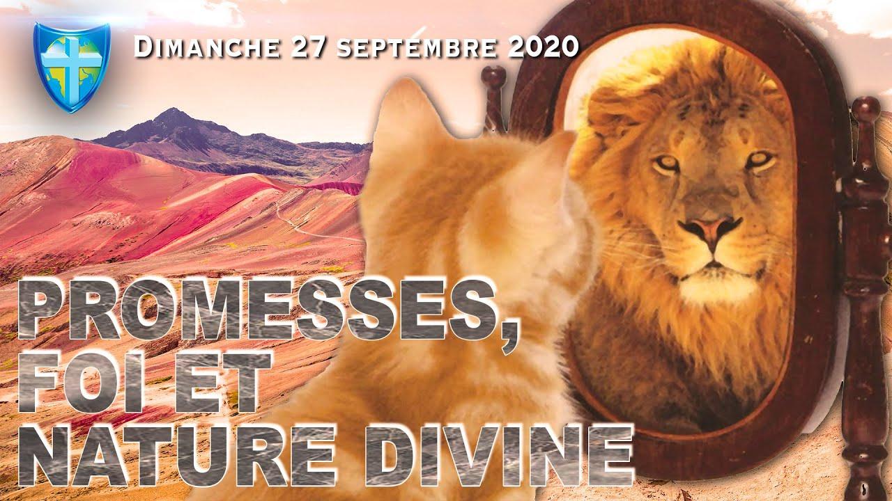 CULTE DU DIMANCHE 27/09/20