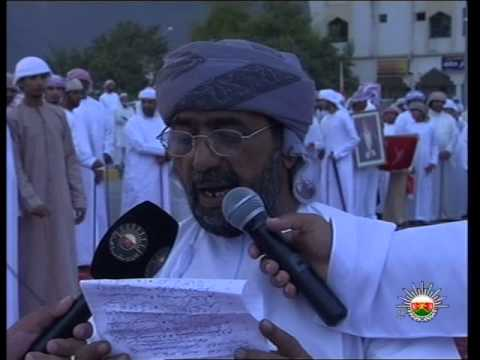 Oman   folk festival in Wilayat Madha on the occasion to welcome HM Sultan Qaboos 29 10 2012