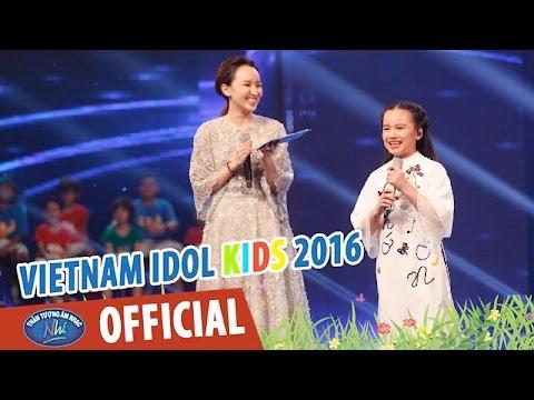 VIETNAM IDOL KIDS - THẦN TƯỢNG ÂM NHẠC NHÍ 2016 - TOP 6 NỮ - THƯ PHÁP - KHÁNH LINH