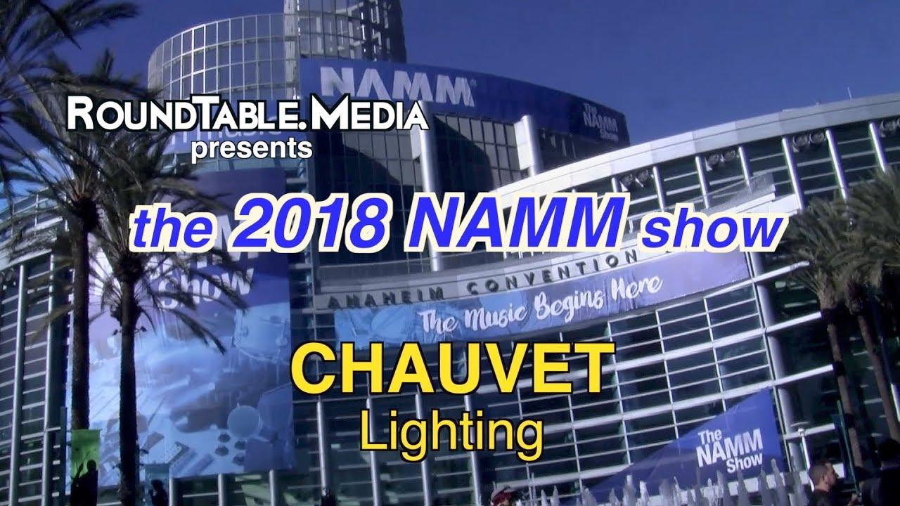 NAMM '18 Chauvet DJ Lighting