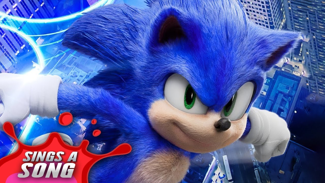Sonic Sings A Song Sonic The Hedgehog Film Parody Youtube