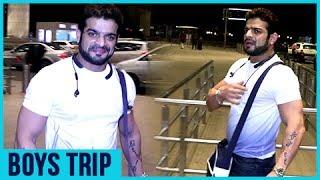 Karan Patel aka Raman Bhalla Leaves For A BOYS TRIP To London   Ye Hai Mohabbatein