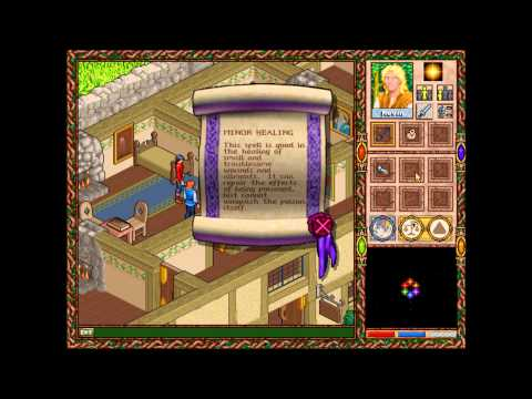Halls of the Dead: Faery Tale Adventure II (MS-DOS) Intro und Gameplay