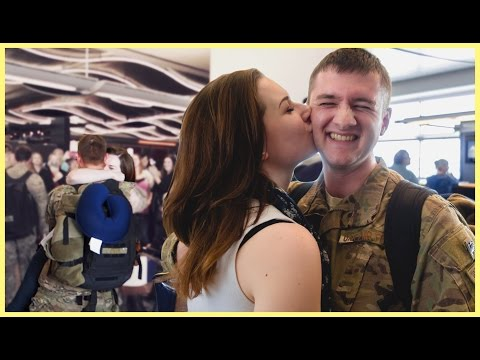 AN AIRMAN'S FIRST DEPLOYMENT HOMECOMING
