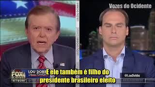 (Legendado) Eduardo Bolsonaro em entrevista para Lou Dobbs na FOX