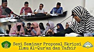 Contoh Seminar Proposal Skripsi Universitas Negeri Ar Raniry Banda Aceh Youtube