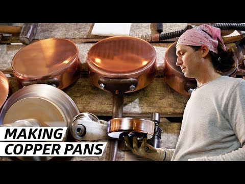 How a Former Rocket Scientist Makes the Best Copper Pots in America — Handmade