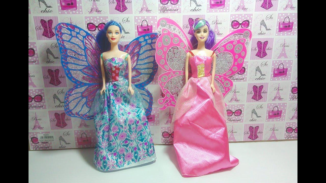 Baju Barbie Kupu Kupu Barbie Butterfly Doll バービーの服蝶