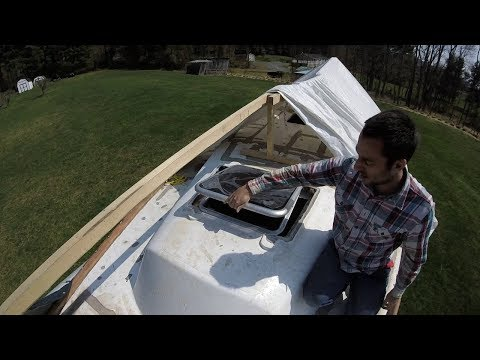 Retrofitting New Hatch in our Morgan 40 Ketch - Part 1