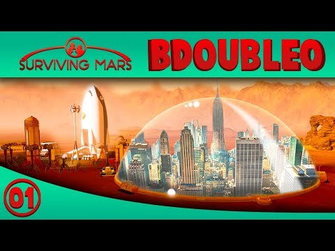 Building a City on Mars! - Surviving Mars Ep 1