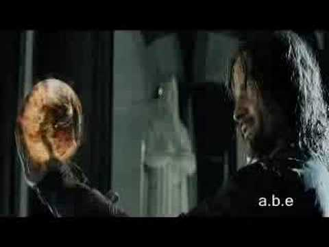 LOTR Extended Edition - Aragorn vs Sauron in Palantir en streaming