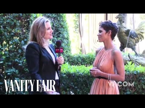 Halle Berry - Behind The Scenes Interview At Her Vanity Fair Hollywood Issue Cover Shoot