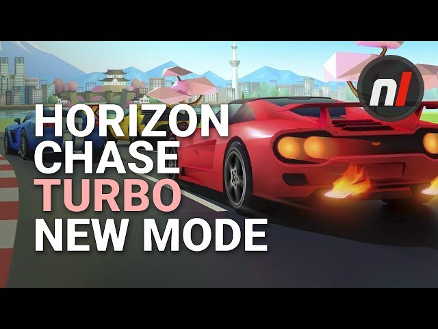 Horizon Chase Turbo's Getting an All-New Mode on Nintendo Switch