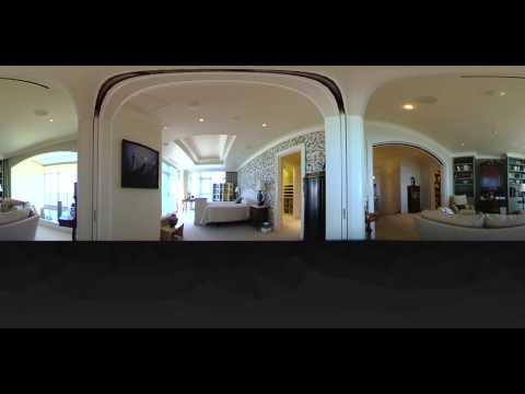Houston, Luxury penthouse suite. Master Bedroom