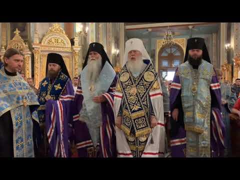 Заупокойное Богослужение в день кончины блаженнейшего митрополита Владимира(Сабодана)