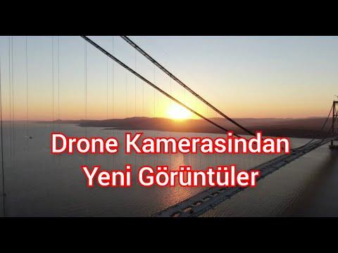 Çanakkale 1915 Köprüsü { Son Hali Ile 4K Çözünürlükle Drone Çekimi } Yiğit KACAR Beyin Kadrajindan.