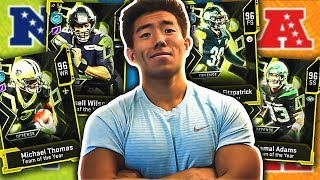ALL PRO BOWL LINEUP! NFC OFFENSE & AFC DEFENSE! Madden 20 Ultimate Team!