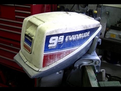 How To Replace The Fuel Pump On an Evinrude 9 9HP Outboard Motor