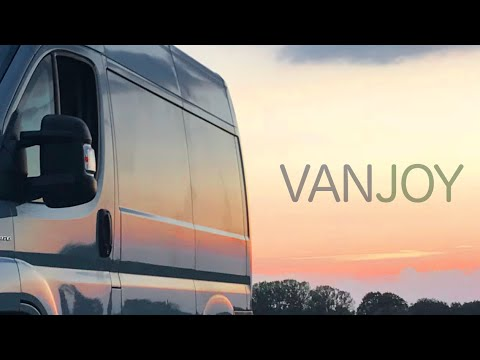 Vanjoy concept switches seamlessly between mobile office, load hauler and campervan