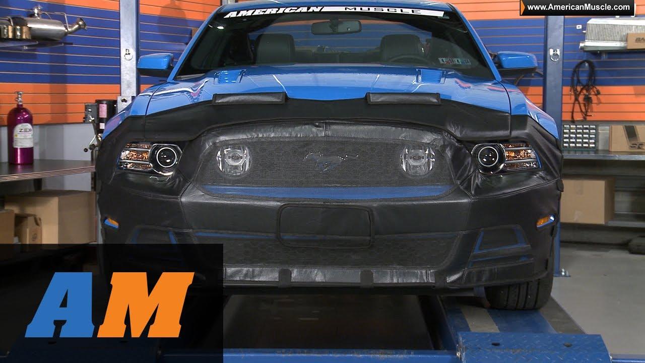 Mustang Covercraft Bra 13 14 Gt Amp V6 Review Youtube