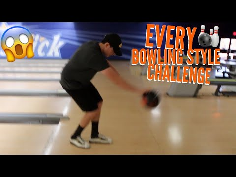 Every Bowling Style Challenge